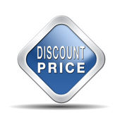 Discount price — Stock Photo
