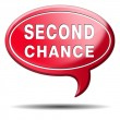 Stock Photo: Second chance