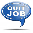 Quit job — Stock Photo #37249247