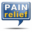 Foto de Stock  : Pain relief