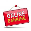 Online banking — Stock Photo #37249305