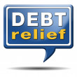 Foto de Stock  : Debt relief