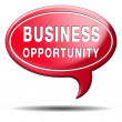 Business opportunity icon — Stock Photo