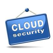Concept de sécurité cloud — Photo