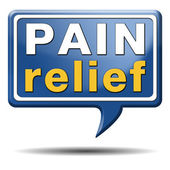 Pain relief — Foto de Stock