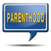 Parenthood sign — Stockfoto