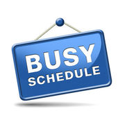 Busy schedule — Stock Photo