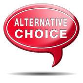 Alternativa — Foto de Stock