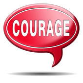 Courage — Stock Photo