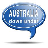 Australië pictogram — Stockfoto