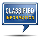 Classified information — Stock Photo