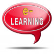 E-learning — Stock Photo
