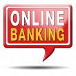 Online banking — Stock Photo #37440923