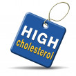Foto de Stock  : High cholesterol