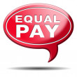 Equal pay — Stock Photo