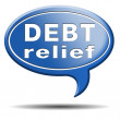 Debt relief — Stock Photo #37441049