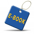 Ebook button — Stock Photo