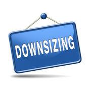 Downsizing — Stock Photo