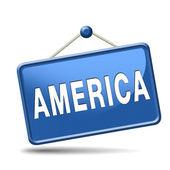 アメリカ アイコン — ストック写真
