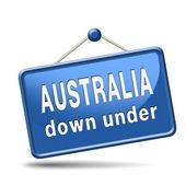 Australia icon — Stock Photo
