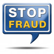 Stop fraud — Stock Photo