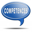 Stock Photo: Competences
