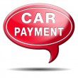 Car payment — Stock Photo #37611475