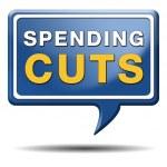 Постер, плакат: Spending cuts