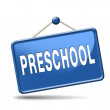 Preschool — Stock Photo