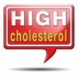 High cholesterol — Stock fotografie #37611689