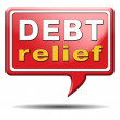 Debt relief — Stock Photo #37611751