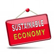 Stock Photo: Sustainable economy