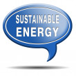 Stock Photo: Sustainable energy