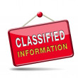 Stock Photo: Classified information