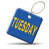 Tuesday — Stock Photo