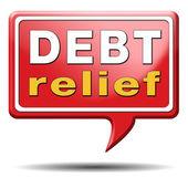 Debt relief — Stock Photo