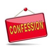 Confession — Stock Photo