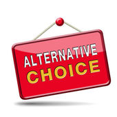 Alternative choice — Stock Photo