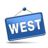 Западная сторона — Стоковое фото
