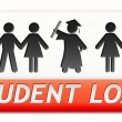 Stock Photo: Student loan