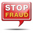 Stop fraud — Stock Photo #38302725