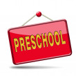 Stock Photo: Preschool