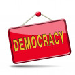 Stock Photo: Democracy