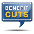 Benefit cuts — Stockfoto #38303181