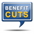 Benefit cuts — Stock fotografie #38303181