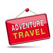 Stock Photo: Adventure travel