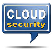 Cloud security concept — Stock Photo