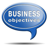 Business objectives — Foto de Stock