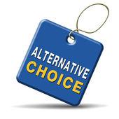 Alternative choice — Stock Photo