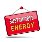 Sustainable energy — Stock Photo